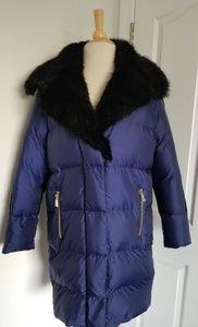 Juicy Couture Blue Down Coat S